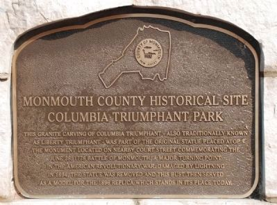 Columbia Triumphant Park Marker image. Click for full size.