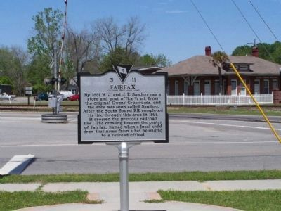 Fairfax Marker, side 2 image. Click for full size.