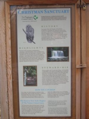 Christman Sanctuary - Duanesburg, New York image. Click for full size.