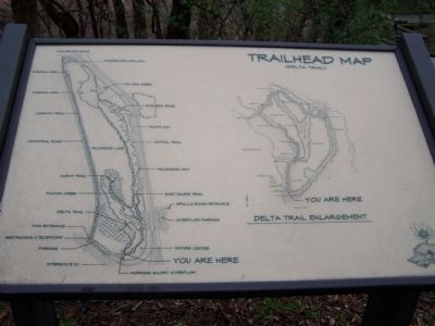 Trailhead Map of Wildwood Sanctuary image. Click for full size.