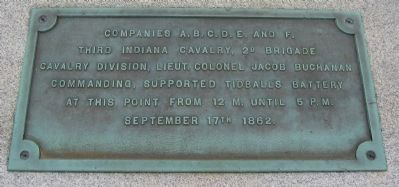 3rd Indiana Cavalry Monument image. Click for full size.