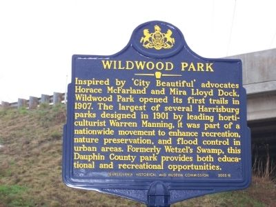 Wildwood Park Marker image. Click for full size.