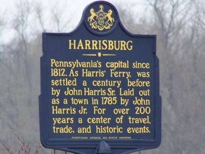 Harrisburg Marker image. Click for full size.