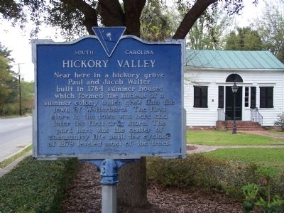 Hickory Valley Marker image. Click for full size.