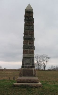 16th Connecticut Monument image. Click for full size.
