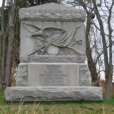 12th Ohio Volunteer Infantry Monument image. Click for full size.
