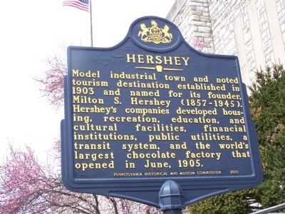 Hershey Marker image. Click for full size.