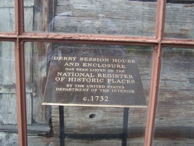 Derry Session House and Enclosure Marker image. Click for full size.