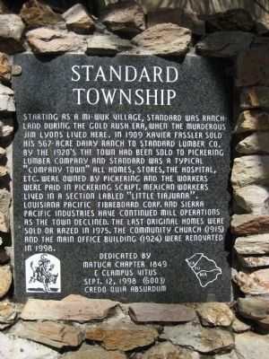 Standard Township Marker image. Click for full size.
