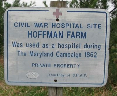 Hoffman Farm Marker image. Click for full size.