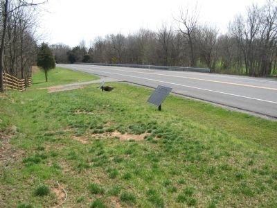 Confederate Tablets next to the Hagerstown Pike Bypass image. Click for full size.