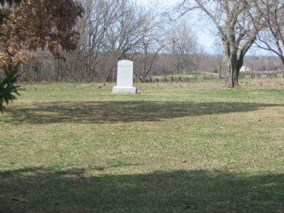 3rd Delaware Infantry Monument in the Field near the West Woods image. Click for full size.