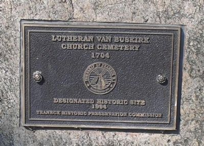 Lutheran Church and Cemetery Site Marker image. Click for full size.