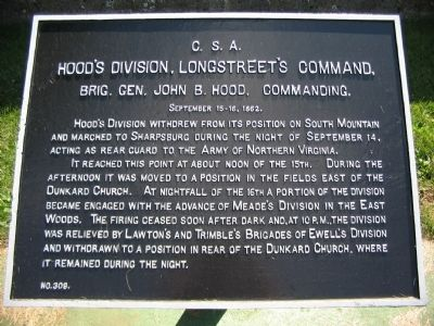 Hood's Division Tablet image. Click for full size.