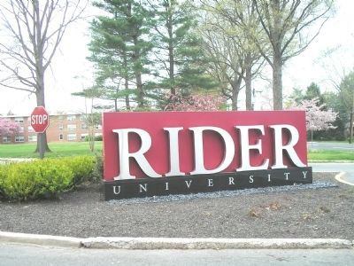 Rider University image. Click for full size.