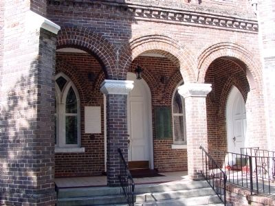 Front Entrance, Bethel A.M.E. Church image. Click for full size.