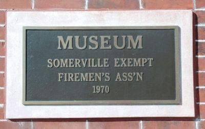 Museum Plaque image. Click for full size.