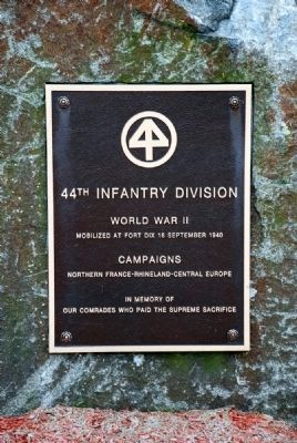 44th Infantry Division Memorial Marker image. Click for full size.