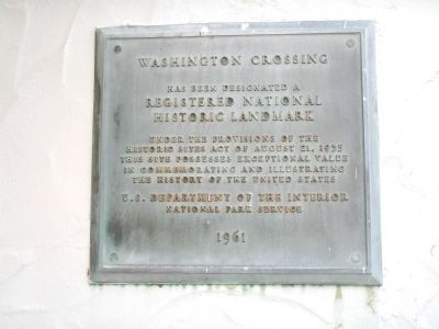 Washington Crossing Marker image. Click for full size.