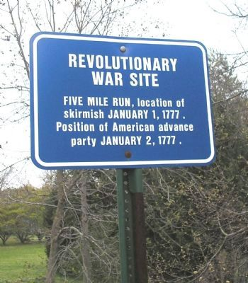 Revolutionary War Site Marker image. Click for full size.