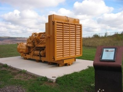 Mining Haul Truck Engine Module Marker image. Click for full size.