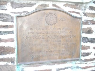 200th Birthday of George Washington Marker image. Click for full size.