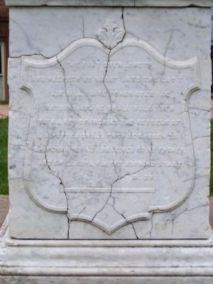 The Reverend Thomas Curtis, D.D. Marker </b><i> ( North Face )</i> image. Click for full size.