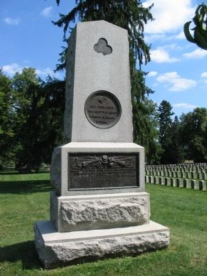 4th New York Volunteers Monument image. Click for full size.