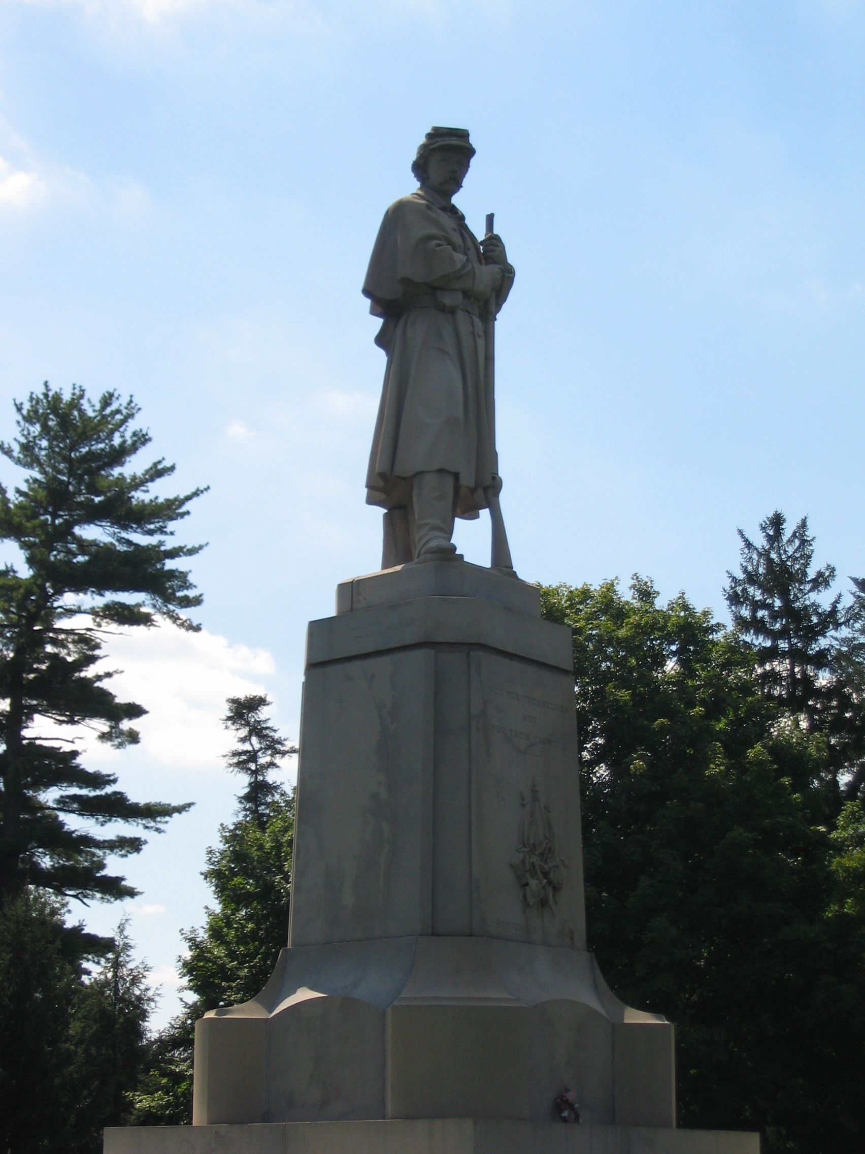 "The Figure Atop the Soldiers Monument is often Called ""Old Simon."""