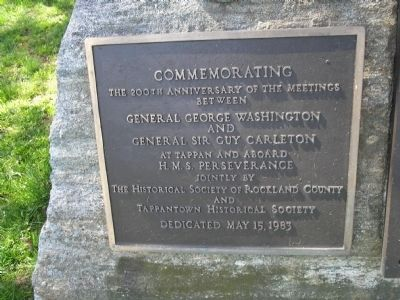 Washington and Carleton Meeting Marker image. Click for full size.