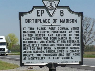 Birthplace of Madison Marker image. Click for full size.