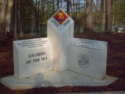 Soldiers of the Sea Marker image. Click for full size.