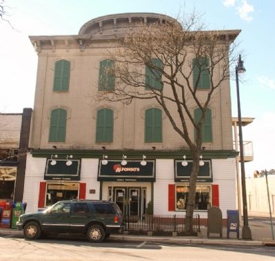 The old Somerset Hall is now Alfonso's Trattoria image. Click for full size.