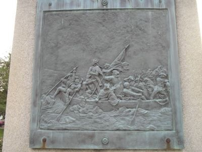 Washington Crossing Relief image. Click for full size.