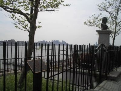 Marker in Weehawken, NJ image. Click for full size.