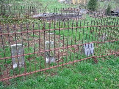 Tombstones in the Iron Enclosure image. Click for full size.