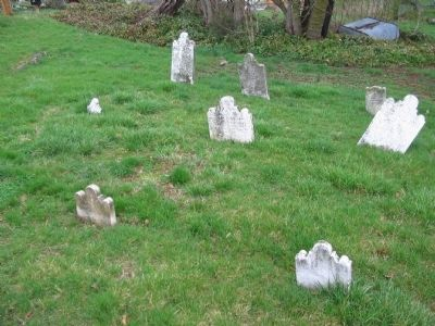 Tombstones in the Reformed Cemetery image. Click for full size.