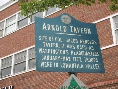 Arnold Tavern Marker image. Click for full size.