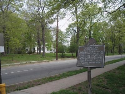 Marker with Ford's Mansion image. Click for full size.