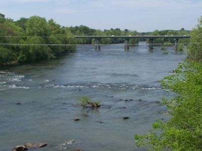 Congaree River, mentioned on Marker image. Click for full size.