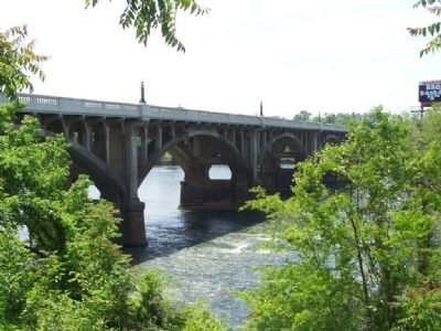 Gervais St. Bridge over Congaree River image. Click for full size.