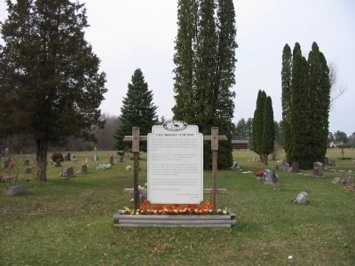 East Arkdale Cemetery Marker image, Touch for more information