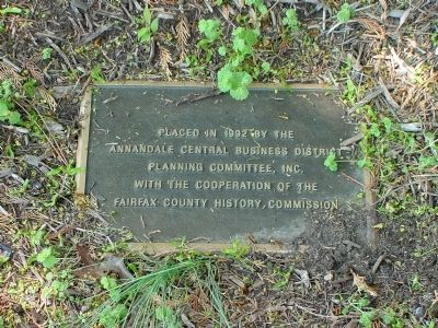 Tablet on Ground Beside Marker image. Click for full size.