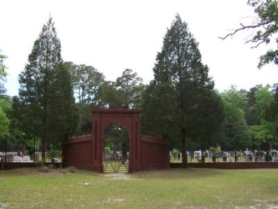 Front of Old Ebenezer Cemetery image. Click for full size.