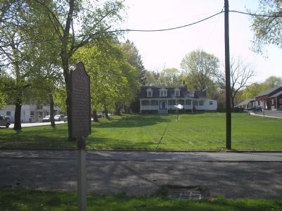 Marker and the Tappan Green image. Click for full size.