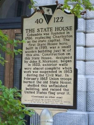 The State House Marker image. Click for full size.