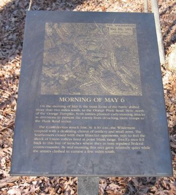 Morning of May 6 Marker image. Click for full size.