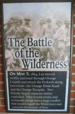 Battle of the Wilderness Panel image. Click for full size.