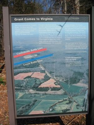 Grant Comes to Virginia Marker image. Click for full size.