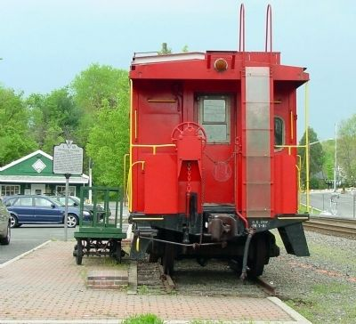 Marker and Caboose image. Click for full size.